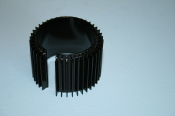 Axial Finned Heatsink for 39/40mm Motors