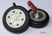 JP Hobby 50mm Brake Wheel Set (4mm Axles)
