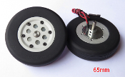 JP Hobby 65mm Brake Wheel Set (5 mm Axles)