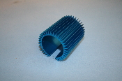 36mm Heat Sink, axial finned, long