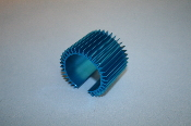 36mm Heat Sink, axial finned, short