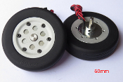 JP Hobby 60mm Brake Wheel Set (4mm Axles)
