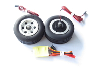 JP Hobby 70mm Brake Wheel Set (6 mm Axles)