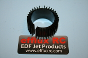 Axial Finned Heatsink for 28/29mm Motors